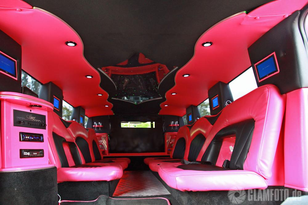 hummer h2 stretchlimousine pink in berlin mieten. Black Bedroom Furniture Sets. Home Design Ideas
