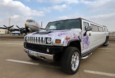Hummer H2 Stretchlimo mit Doppelachse in Berlin mieten - Limostrip.com