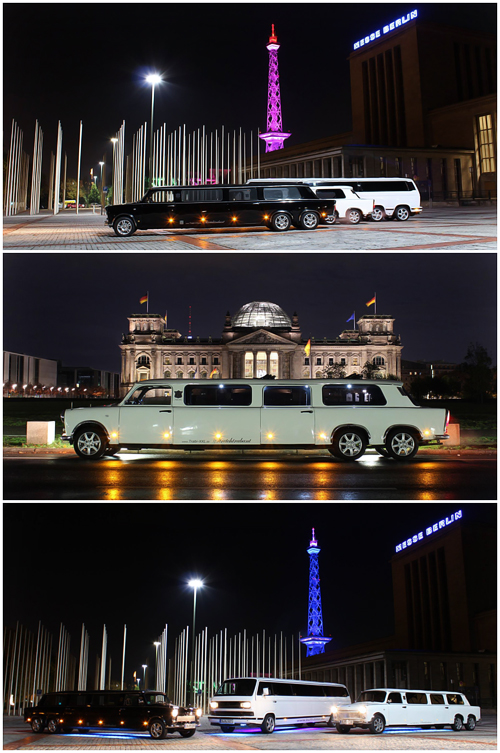 Trabi Stretchlimo [Stretchtrabant] in Berlin mieten - Limostrip.com